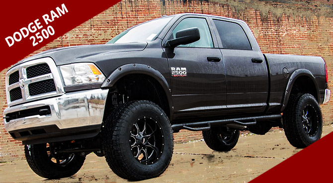 dodge ram 2500 lift kit wheel package 6 in lift dodge truck